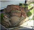TQ3281 : Bastion, London Wall by Rob Farrow