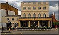 """TQ2883 : """"York and Albany"""" restaurant and hotel, Camden Town by Jim Osley"""