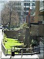 TQ3281 : Revealed section of London's Roman walls by Rob Farrow