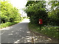 TM1848 : Westerfield Lane & Oak Cottage Postbox by Geographer