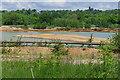 SU8062 : Conveyor belt, Manor Farm gravel pit by Alan Hunt