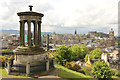 NT2674 : Dugald Stewart Monument, Calton Hill by Richard Croft