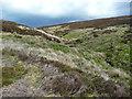SD9733 : Black Clough, Wadsworth Moor by Humphrey Bolton