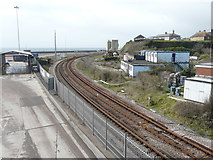 TR3140 : Temporary closure of the railway line by John Baker