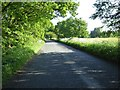 SO8647 : Road over Normoor Common by Philip Halling