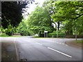SJ7955 : Alsager: junction of Church Road and Lodge Road by Jonathan Hutchins