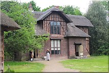 TQ1776 : Queen Charlotte's cottage, Kew Gardens by Jim Barton