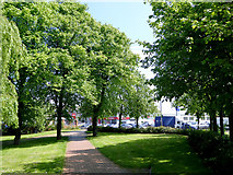 SO9097 : Footpath to the Penn Road in Wolverhampton by Roger  Kidd