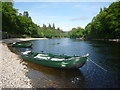 NO0142 : Perthshire Landscape : Boats On The River Tay Near Dunkeld House by Richard West