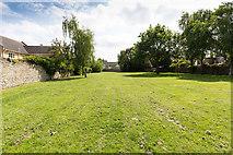 TL2696 : Open grassed area near St Mary's Church by David P Howard