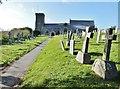 SW7960 : The parish church of St. Carantoc, Crantock, Cornwall by Derek Voller