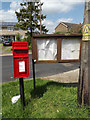 TM2155 : Otley Village Notice Board & 2 Newlands Postbox by Adrian Cable