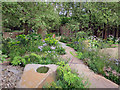 TQ2878 : The M&G Garden by Oast House Archive