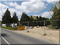 TM2867 : Building site off the A1120 The Street by Adrian Cable