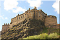 NT2573 : Edinburgh Castle by Richard Croft