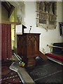TM1051 : St.Peter's Church Pulpit by Adrian Cable
