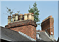 J3372 : Chimneys, Stranmillis, Belfast (May 2016) by Albert Bridge