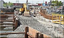 J3674 : Connswater works, Belfast (May 2016) by Albert Bridge
