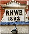 SH6076 : RHWB 1892 by Gerald England