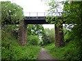 SJ8154 : Bridge over the Merelake Way by Jonathan Hutchins