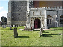 TG4919 : War Memorial, Holy Trinity and All Saints Church, Winterton-on-Sea by JThomas