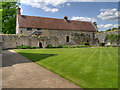 SU3802 : Beaulieu Abbey Domus from the Cloister by David Dixon
