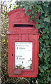 TG4028 : Close up, George VI postbox on Heath Road by JThomas
