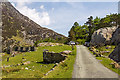 SH6460 : North Wales WWII defences: Nant Ffrancon - anti-tank blocks (3) by Mike Searle