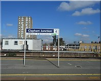 TQ2775 : Platform Station, Clapham Junction Station by N Chadwick