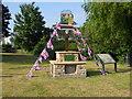 TF1406 : Patriotic village sign, Etton by Paul Bryan