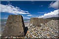 SH6112 : North Wales WWII defences: Fairbourne - anti-tank blocks (6) by Mike Searle
