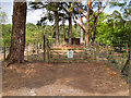 SZ0288 : Gate and Path into Nature Reserve by David Dixon