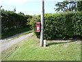 NY2257 : Elizabeth II postbox, Whiterigg by JThomas