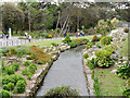 SZ0890 : Bournemouth Lower Gardens, Bourne Stream by David Dixon