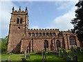 SJ7652 : Barthomley: Church of St Bertoline by Jonathan Hutchins