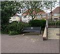 ST3090 : War Memorial Bench, Malpas, Newport by Jaggery