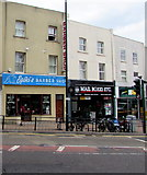 SZ0891 : Spiki's Barber Shop, Bournemouth by Jaggery