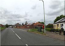 TM0855 : Hurstlea Road & 6 Hurstlea Road Postbox by Adrian Cable