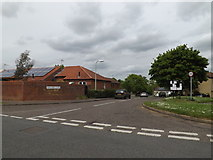 TM0855 : Highlands Close, Needham Market by Adrian Cable