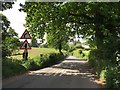 SJ7652 : Entering Barthomley by Jonathan Hutchins