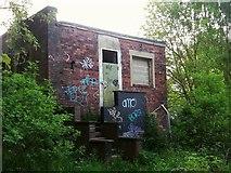SE2436 : Derelict building, Hunters Greave  by Stephen Craven