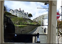 SH7782 : Aboard the Great Orme Tramway by Gerald England