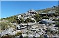 NR9643 : Cairn and Spring - Caisteal Abhail by Raibeart MacAoidh