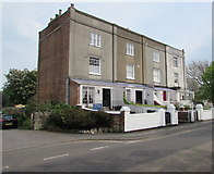 ST3049 : Row of early Victorian houses, Berrow Road, Burnham-on-Sea by Jaggery