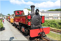 SH5639 : Russell at Porthmadog by Richard Hoare