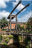 SJ8298 : Lifting Bridge by Peter McDermott