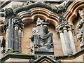 SK1109 : Lichfield Cathedral: King Stephen by Stephen Craven