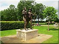 SK1814 : National Memorial Arboretum: Land Army and Timber Corps by Stephen Craven