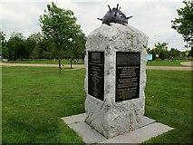 SK1814 : National Memorial Arboretum: RNPS by Stephen Craven