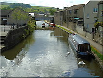 SD9851 : Leeds and Liverpool canal, Skipton by Carroll Pierce